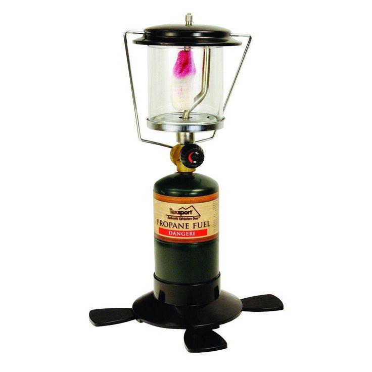 Texsport Single Mantle Propane Lantern Uses 16.4oz OR 14.1oz