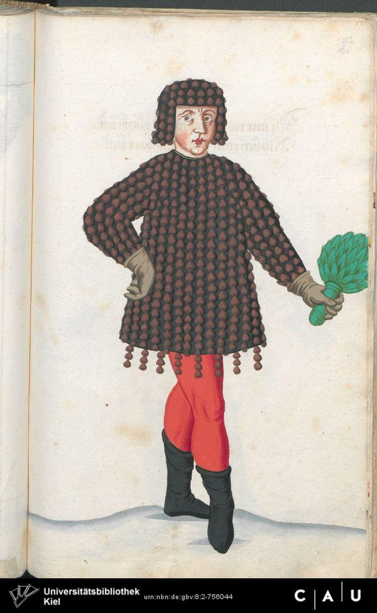 Nürnberger Schembart-Buch Erscheinungsjahr: 16XX  Cod. ms. KB 395  Folio 241