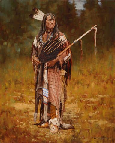 PIPE BEARER OF THE HIDATSA - STEVEN LANG
