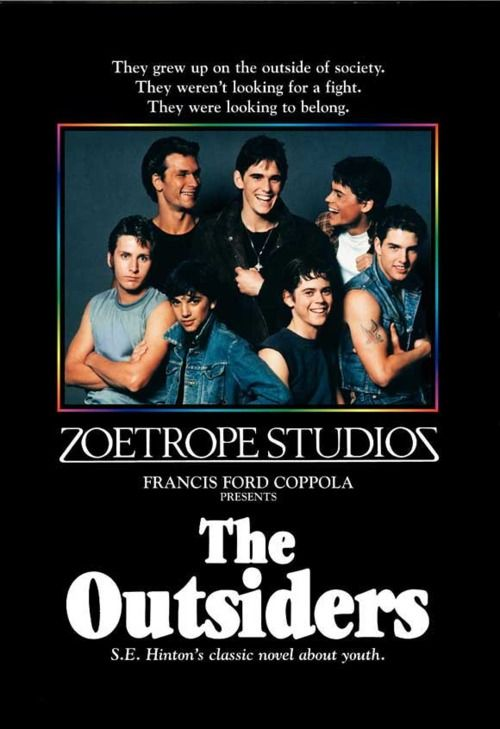 The Outsiders...my all time favorite 80's movie