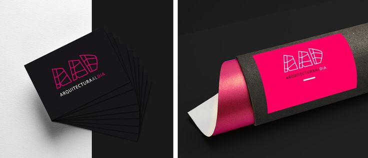 "Branding ""Arquitectura dal Día"" Design by THINK UP CREATIVOS"