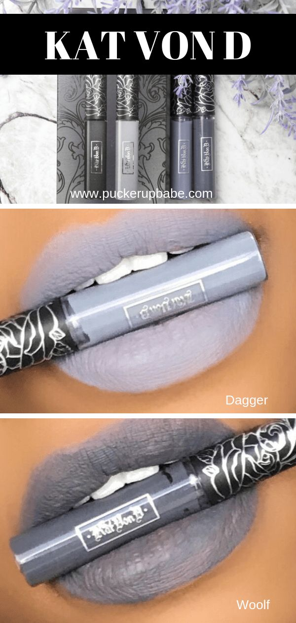 Kat Von D Smoke and Mirrors Swatch & Review Lipstick for
