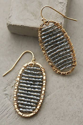 Valreas Drops - Try this with the textured rounds from Bohemian with 26 g wire and seed beads.