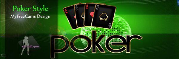 poker style myfreecams profile