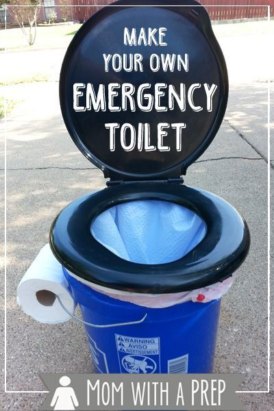 Mom with a PREP | 30 Days of Preparedness: Make Your Own Emergency Toilet #30daysofprep #prepare4life #emergencypreparedness