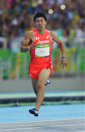 桐生は予選敗退 :フォトニュース - リオ五輪・パラリンピック 2016:時事ドットコム