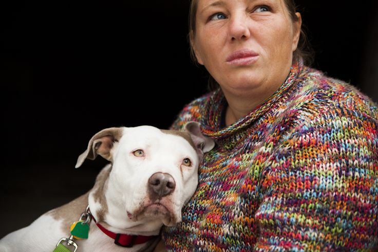 With Lifelines, photographer shines a light on homeless folks and their pets