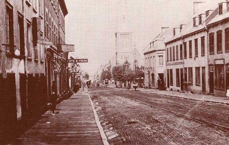 La rue St-Jean en 1883