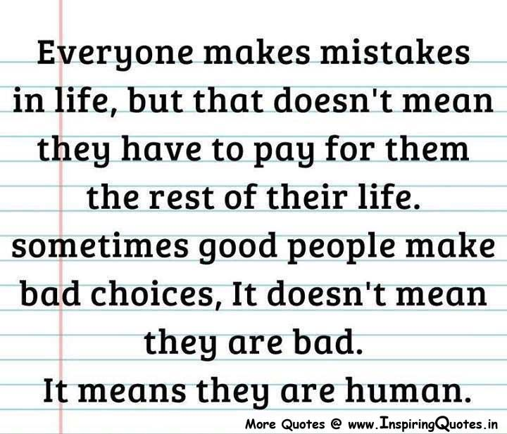 Mistake Quotes: Quotes About Regrets And Mistakes. QuotesGram