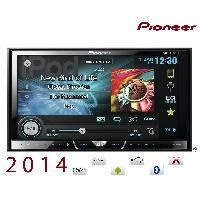 Pioneer - AVH-X2500BT - Autoradio 2DIN DVD/MP3/DiVX - iPod/iPhone/Android - USB/AUX - Bluetooth - 3 RCA - Ecran 6.1p - 2013 --> AVH-X2600BT
