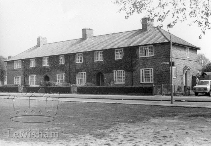 Downderry Road on the Downham Estate near Bromley Kent England in the 1970's