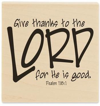 give thanks to the Lord  www.crosswounds.com
