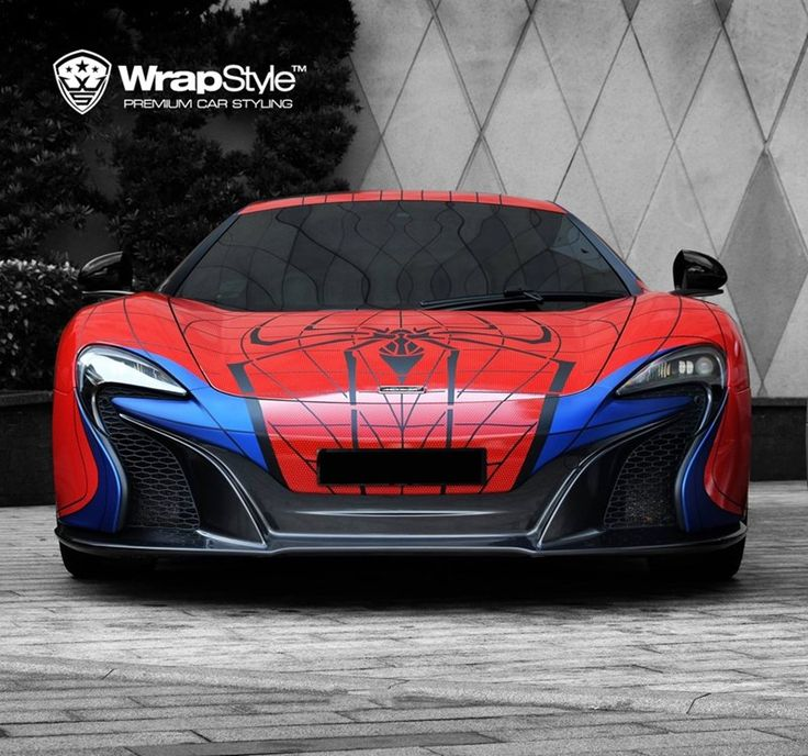 Check out this amazing Spiderman car