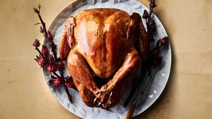 Alton Brown  High Roast Turkey - 500* for 30-40 mins - cover breast with foil turn temp down to 350*