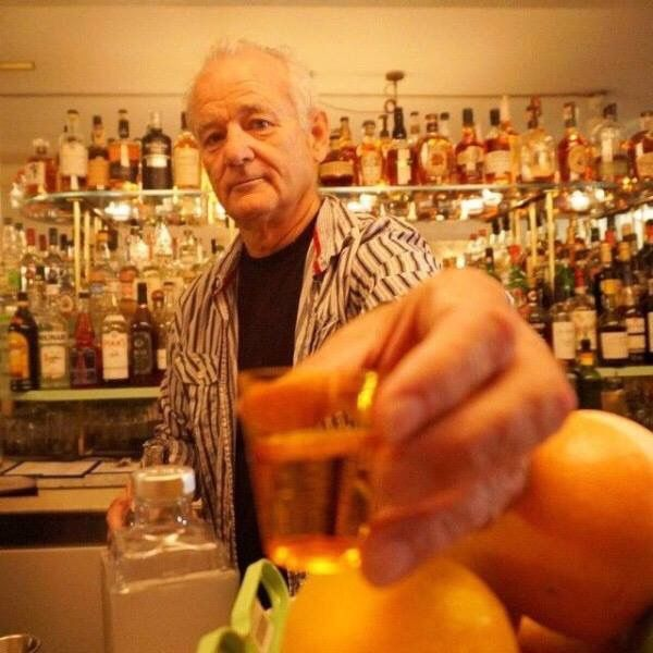To you Bill Murray!!!