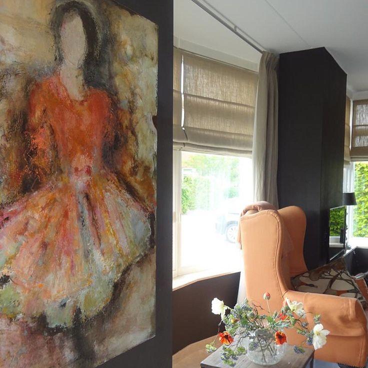 Wall Art Interior Decor Artist Margo Van Erkelens Abstracte Schilderijen