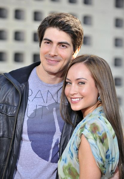 """Brandon Routh Photos - Brandon Routh and Courtney Ford arrive for the premiere of HBO's """"True Blood"""" held at the Arclight Cinerama Dome on June 21, 2011 in Los Angeles, California. - Premiere Of HBO's """"True Blood"""" Season 4 - Arrivals"""