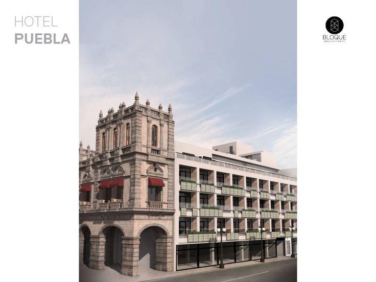 Encuentra las mejores ideas e inspiración para el hogar. Hotel Puebla por Bloque Arquitectónico | homify