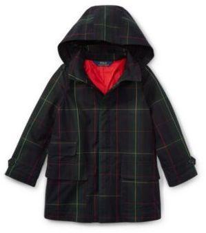 Ralph Lauren Plaid Water-Resistant Jacket Blackwatch Multi 2T