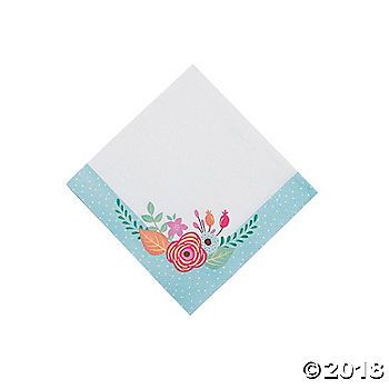 Planning a prim and proper tea party for you and the girls? These Tea Party Beverage Napkins are a must-have! They'll be the perfect complement to ...