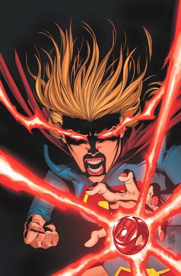 Supergirl...Red Lantern?