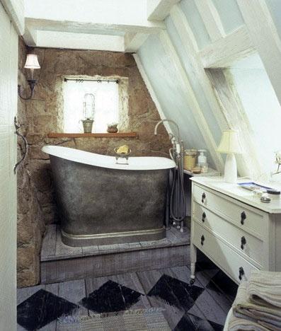Small Attic bathroom...so adorable