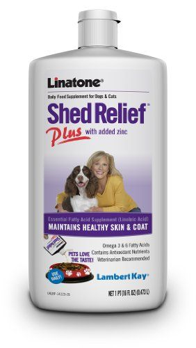 Lambert Kay Linatone Shed Relief Plus Dog and Cat Skin and Coat Liquid Supplement, 16 Ounces - http://www.thepuppy.org/lambert-kay-linatone-shed-relief-plus-dog-and-cat-skin-and-coat-liquid-supplement-16-ounces/