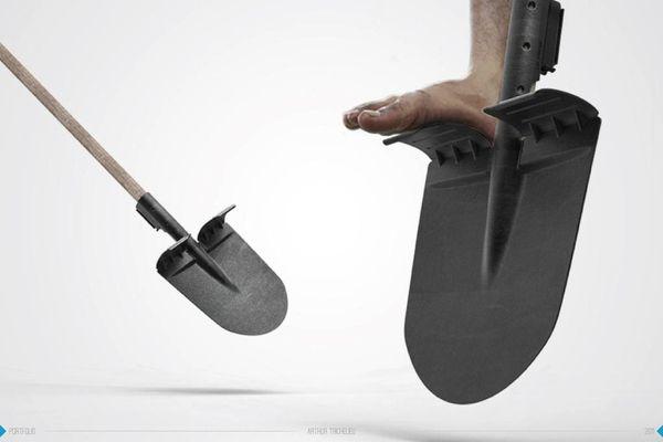 Sahay - A shovel for Indian people by Arthur Trichelieu, via Behance