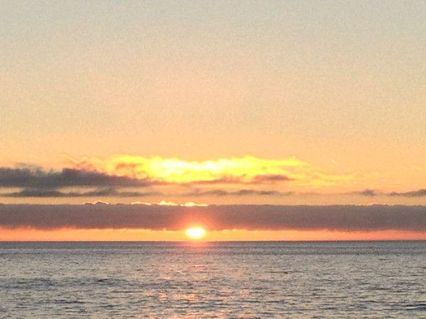 Que descansen nos leemos el próximo mes... Atardecer en Viña del Mar, Chile...