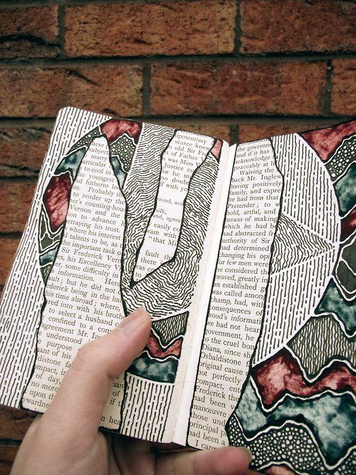 art journal inspiration. Moleskine, #015