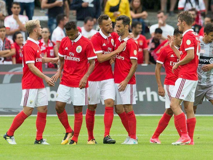 Benfica: Jardel, Felipe Augusto e Seferovic entre os mais utilizados
