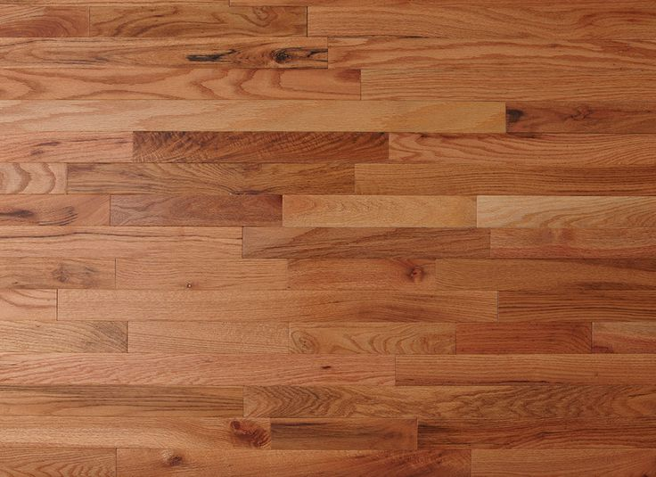 This Solid Oak Hardwood Flooring Has Been Prefinished To A Light Copper  Color Called Butterscotch.