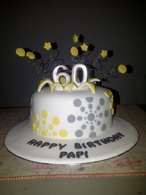 105 best 60th Birthday Cakes images on Pinterest 60 birthday