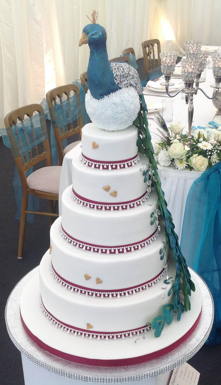 22 best Wedding Cakes images on Pinterest   Cake wedding ...