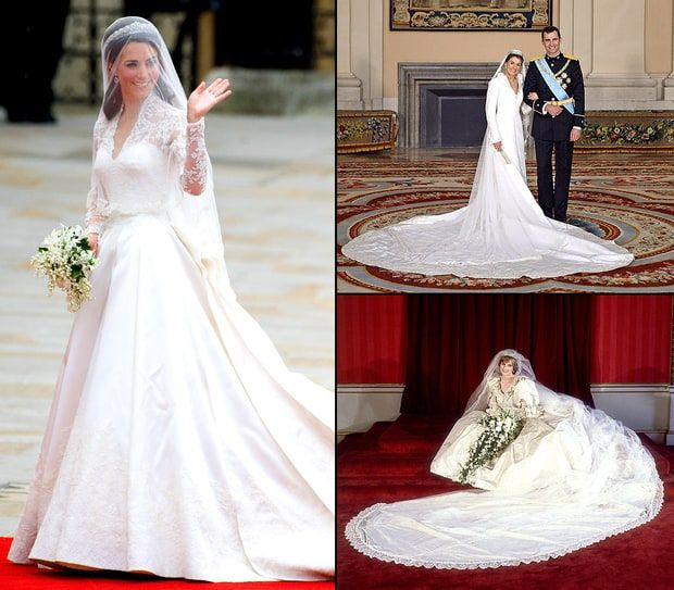 Most Amazing Royal Wedding Dresses Ever