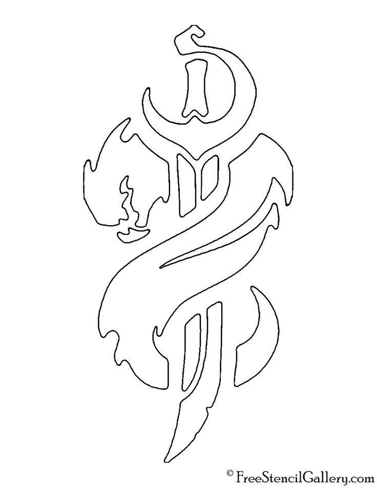 League Of Legends Bilgewater Crest Stencil