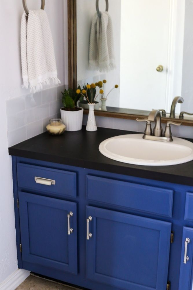 How To Replace A Bathroom Countertop Howtoremodelabathroom