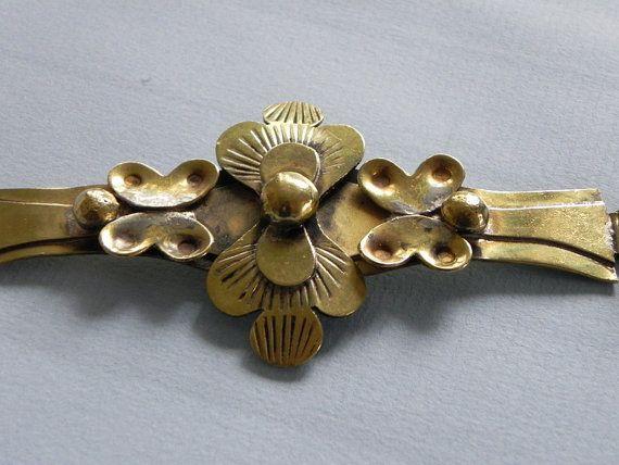 Seppo Tamminen, vintage modernist handmade brass pendant. #Finland | beautifulsweden / Etsy.com