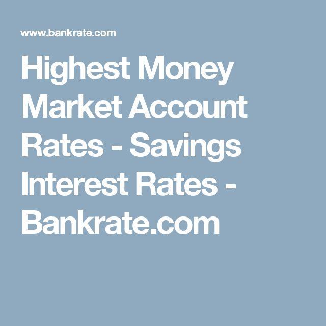 Highest Money Market Account Rates Savings Interest Bankrate Build Credit Score Budgeting Finances