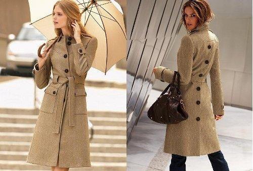 Модные дамские осенние пальто в питере