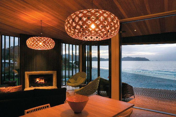 Onetangi House, Waiheke Island, Auckland, Stevens Lawson Architects.