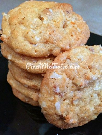 Pineapple Coconut Cookies - Inspired by Publix's Calypso Crunch Bites
