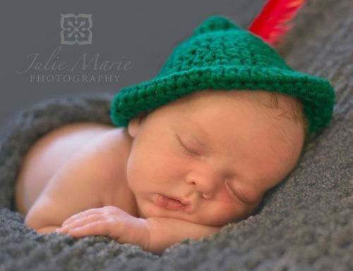 Crochet peter pan hat newborn photography prop ebay