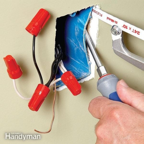 how to add a second electrical box