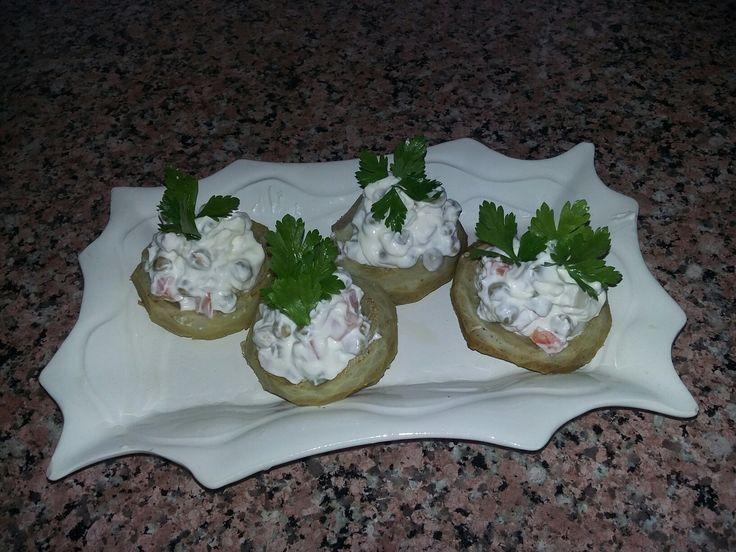 Enginarlı Rus Salatası