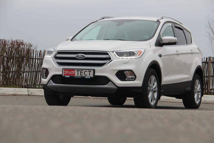 Тест-драйв обновленного Ford Kuga: Уверенная тяга к новому стилю