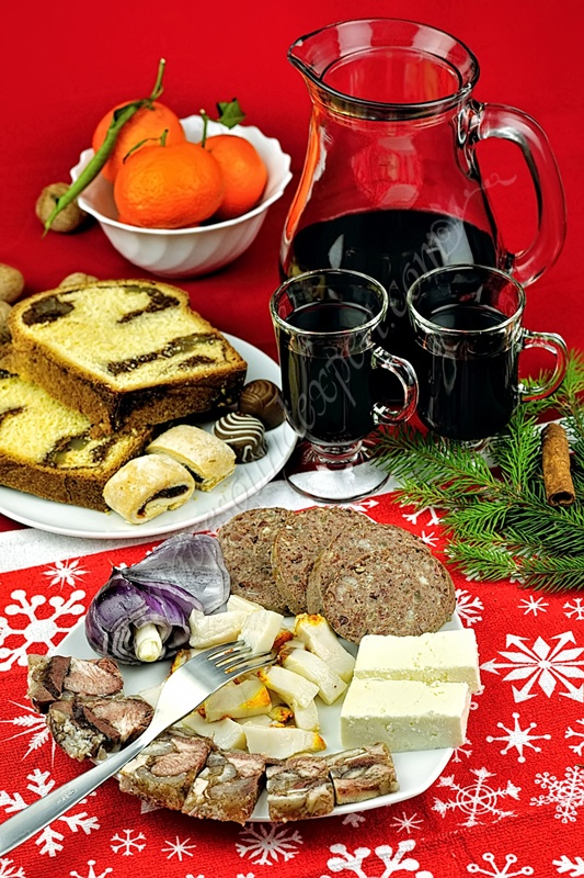 traditional Romanian Christmas food,