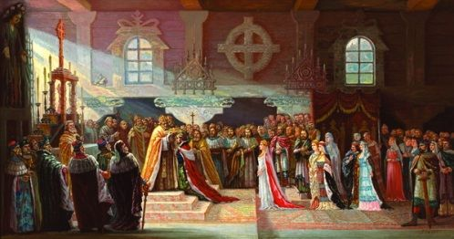Koronacja królewska Mendoga, 6 lipca 1253 roku