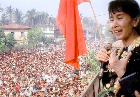 Aung San Suu Kyi, Burma (Leader of the Opposition)