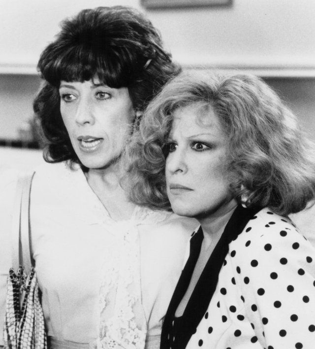 Bette Midler and Lily Tomlin in 'Big Business'...probably the best 80's movie EVER! ;);) looooooove.